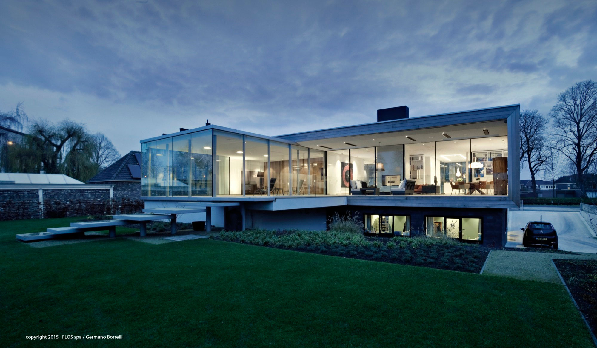 Liag Architects Design A Contemporary House In Weert The Netherlands