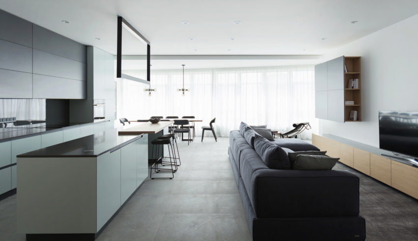 Apartamenty V 01 850x490 Apartment Beautifully Decorated by the Architectural Studio Lugerin Architects