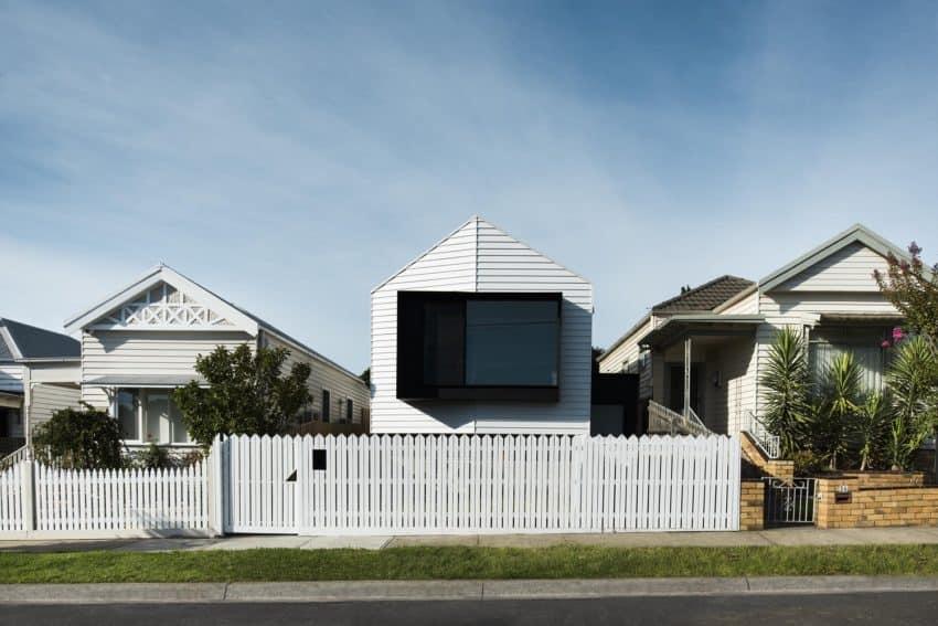 Datum House 01 850x567 A Modern Home in Ascot Vale, Australia