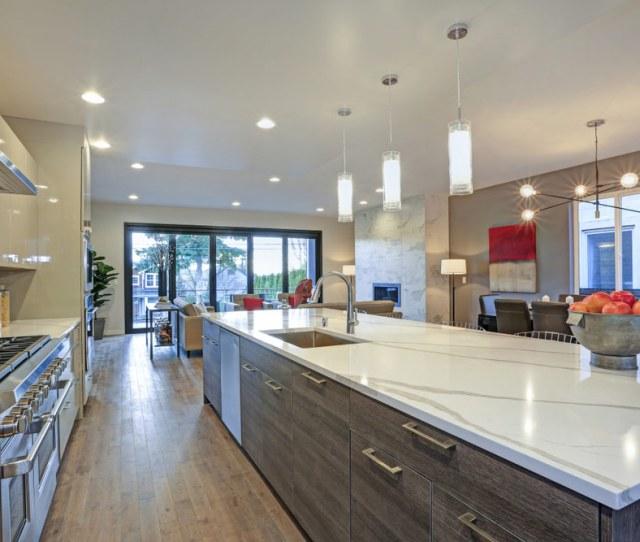 Quartz Countertops High End Kitchen Install