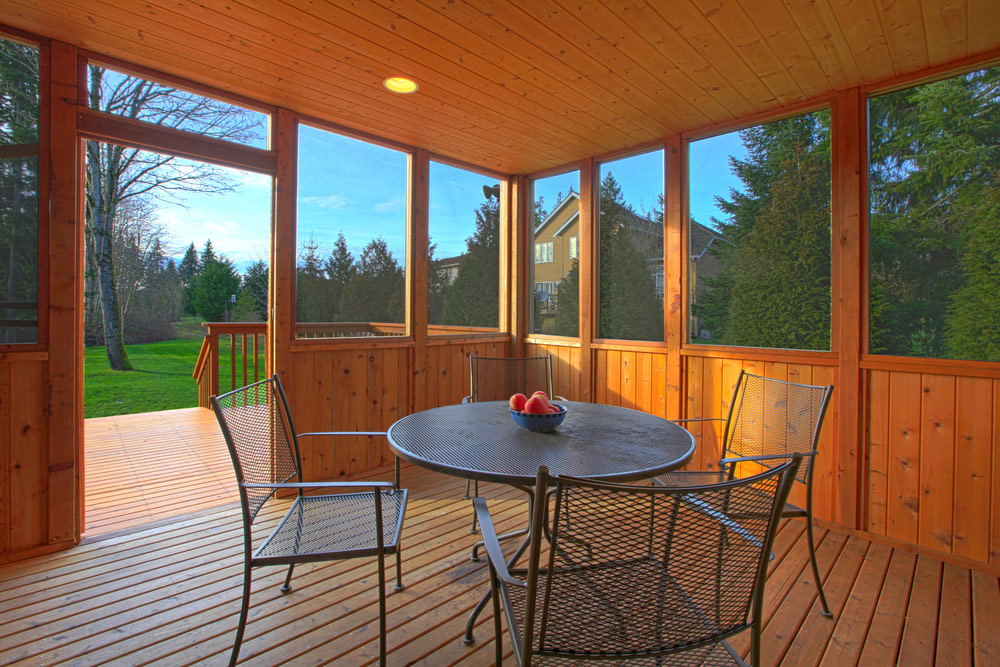 2021 screened in porch cost average