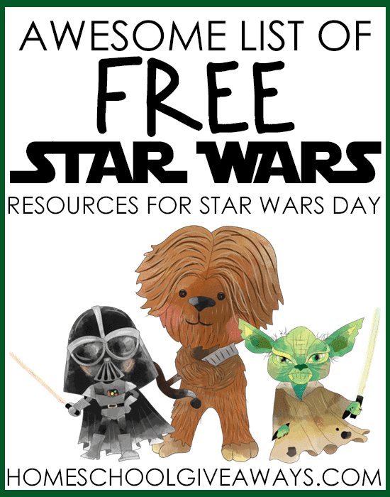Awesome List Of Free Star Wars Resources For Star Wars Day