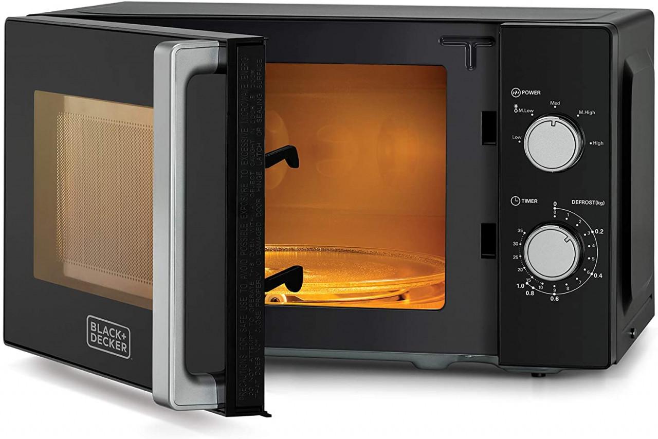 decker mz2010p 20l microwave oven