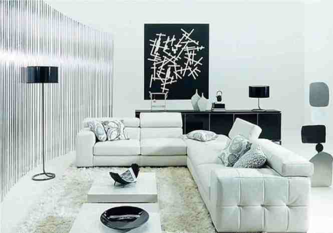 Black And White Living Room Ideas To Bring Your Dream Into Life 15