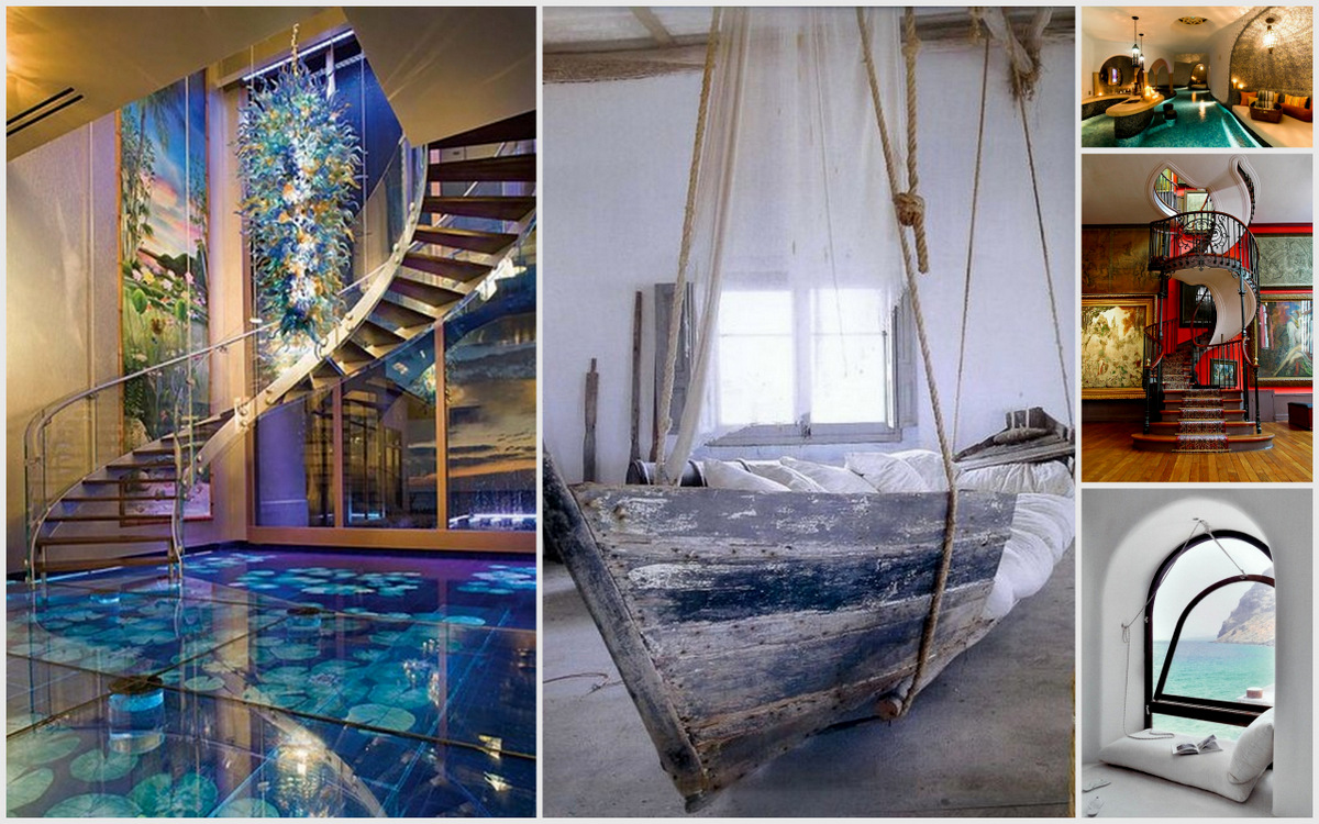49Excellent Unusual Interior Designs Meant To Feed Your