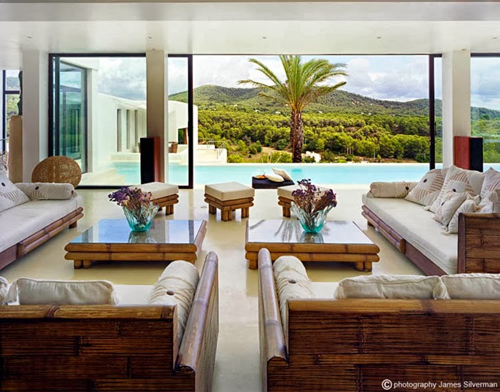 Cliff View Modern Ibiza Dream Home Envisioned By Jaime