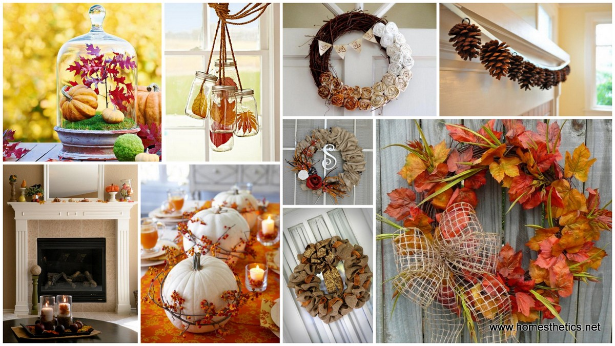 DIY Autumn Interior Decor- Warm Up Your Home And Prepare