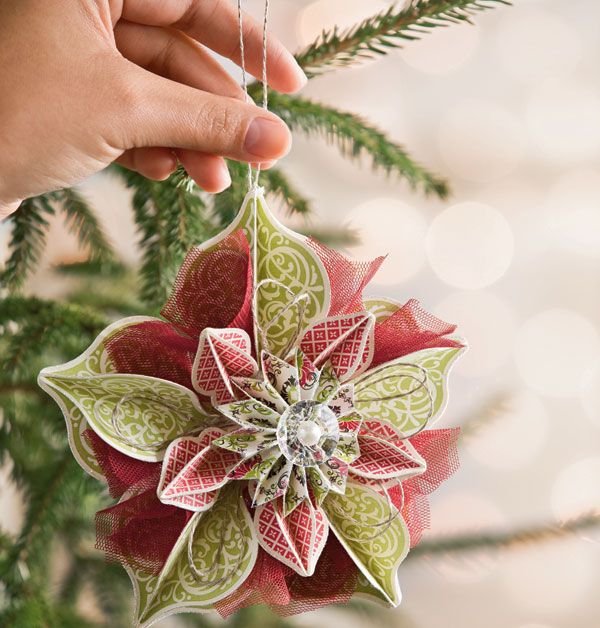 how to make christmas tree decorations with paper