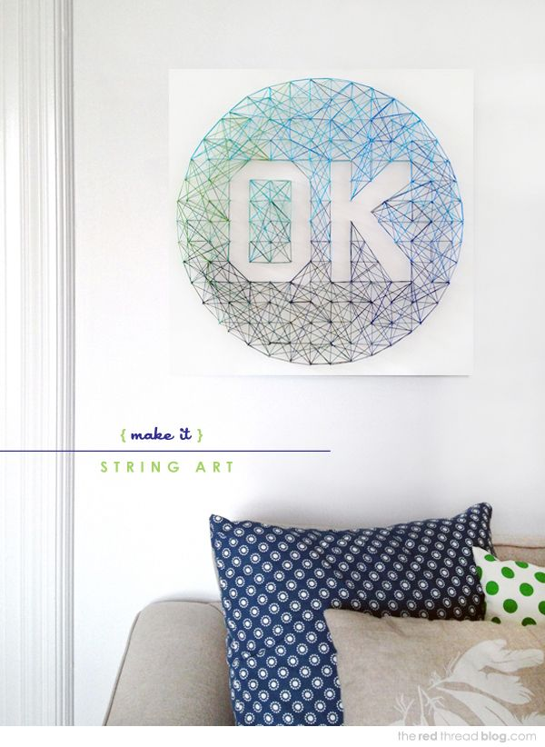 28 Diy Thread And Nails String Art Projects That Will Beautifully Reshape Your Interior Decor Homesthetics