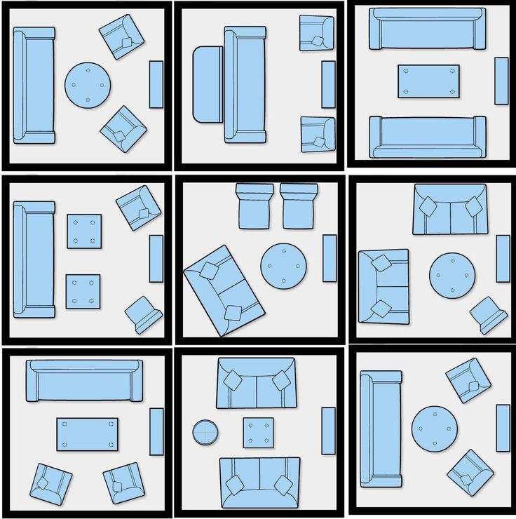 Furniture Arranging Tricks And Diagrams To Revive Your Home