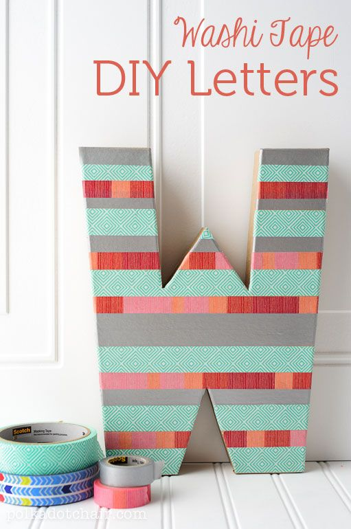 37 DIY Washi Tape Decorating Projects You Will Love