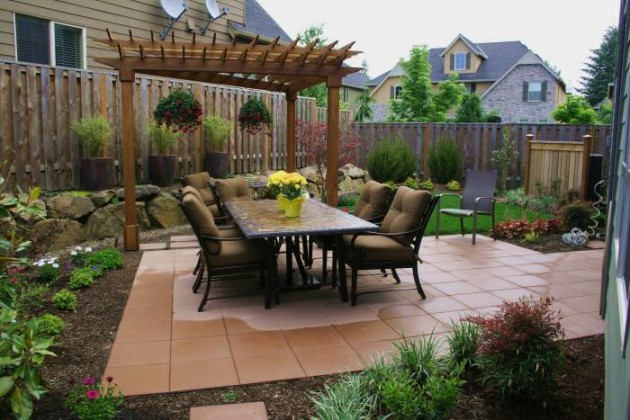 16 Extraordinary Beautiful And Relaxing Patio Designs For