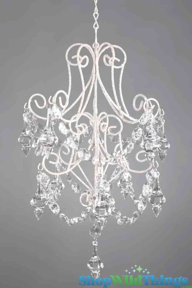 1 Clear Crystal Diy Chandelier Idea For Your Home