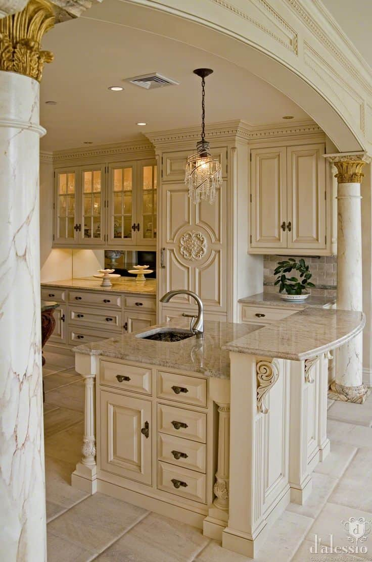 Cream Country Style Kitchens
