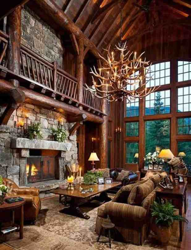 cabin with fireplace. 38 Rustic Country Cabins With A Stone Fireplace For Romantic Get Log Cabin Living Room  Centerfieldbar com