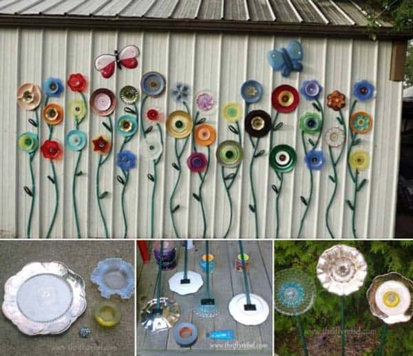 Simple Low Budget DIY Garden Art Flower Yard Projects To Do Homesthetics Inspiring Ideas For