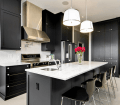 Step Out Of The Box With 31 Bold Black Kitchen Designs Homesthetics Inspiring Ideas For Your Home