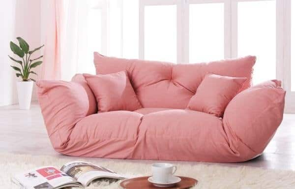 Small Scale Sectional Couch