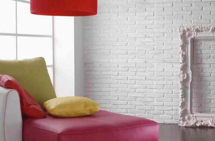 White Brick Wall Living Room Ideas Aecagraorg - White brick interiors