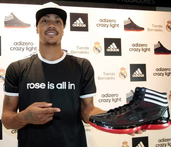 is derrick rose adidas contract guaranteed