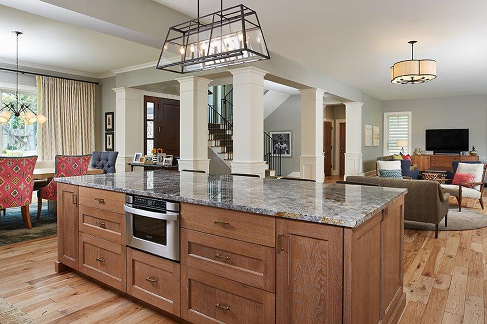 Open Kitchen House Plans