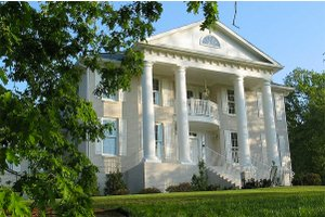 Greek Revival House Plans   Designs at BuilderHousePlans com Plan