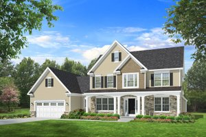 Two Story Home Plans   2 Story Homes and House Plans Plan