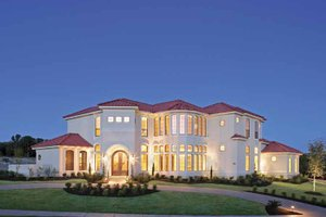 Mediterranean Modern Home Plans   New Homes in Florida Plan