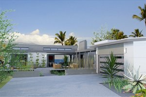 Contemporary Ranch House Plans at BuilderHousePlans com Plan
