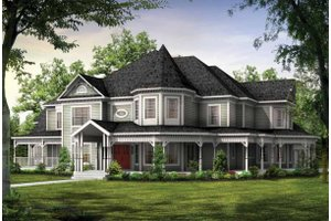 Queen Anne Style House Plans   Victorian Homes Plan