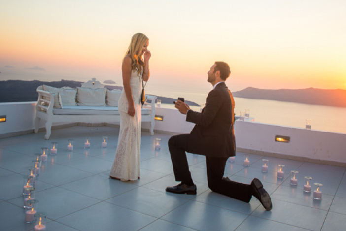 He Pulled Off an Elaborate Surprise Proposal in Greece