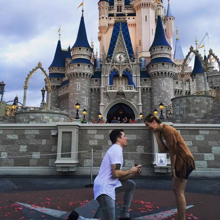 Casually Bawling Watching This Proposal At Cinderellas