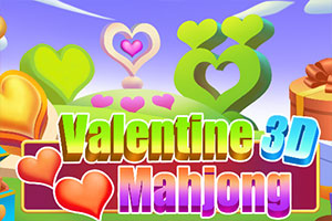 Valentine 3D Mahjong – Play online