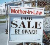 funny mother in law sign