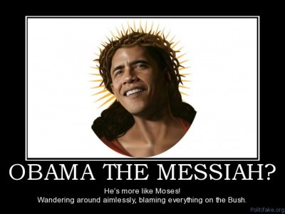 """Funny Joke about Obama the """"Messiah"""""""