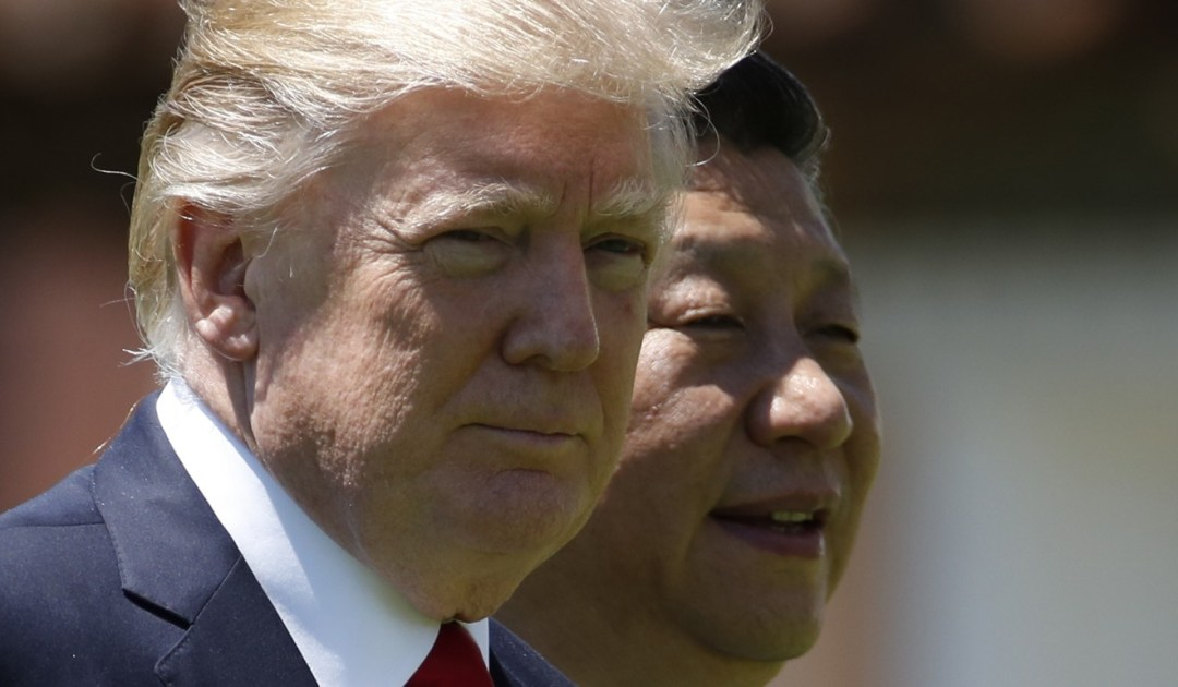 Chinese President Xi Jinping's address was the highest level indirect reference to rhetoric from US President Donald Trump's White House. Photo: AP