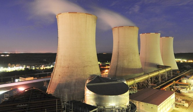 China helped fund work at the Hwange power plant, Finance Minister Mthuli Ncube says. Photo: Handout