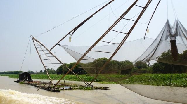 A shrimp farm on Tonle Sap River, Cambodia. Photo: Shutterstock