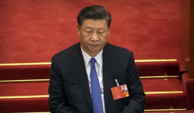 President Xi Jinping signed the legislation on Tuesday after it was passed by the country's top legislative body. Photo: AP