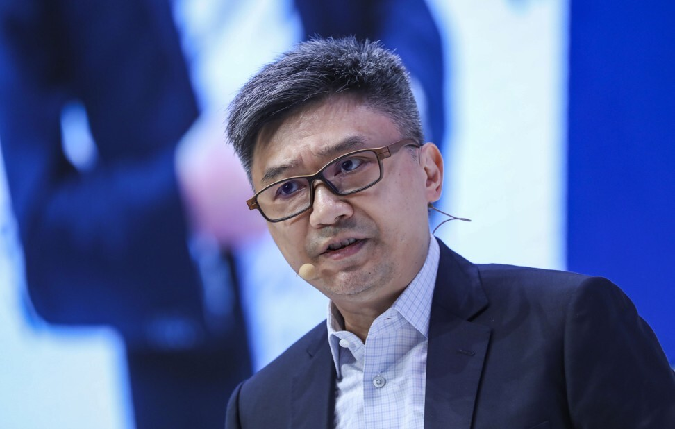 Henry Ma, executive vice-president and chief information officer of Shenzhen's digital bank, WeBank, will be one of the prominent speakers at November's fully virtual 2020 Hong Kong FinTech Week. Photo: SCMP/K.Y. Cheng
