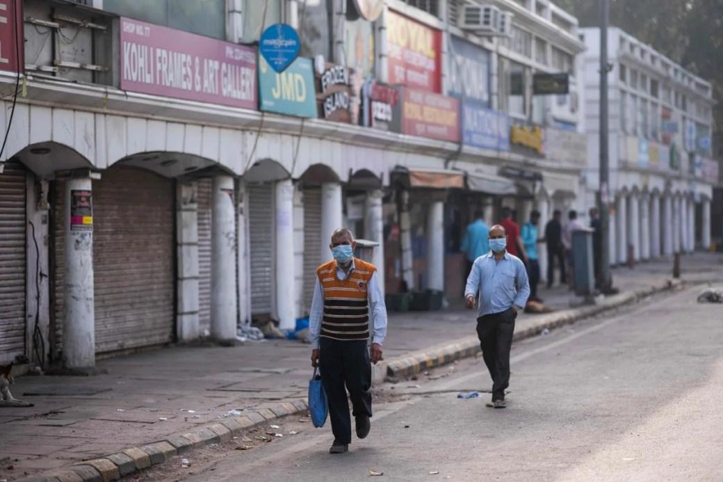 Image result for delhi roads coronavirus