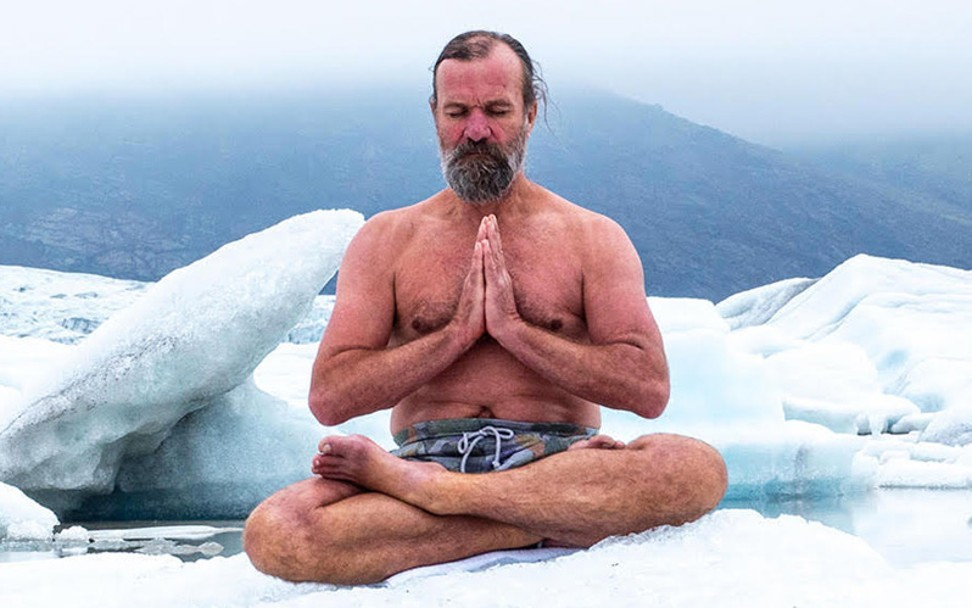 An interview with Wim Hof, the 'Iceman' wellness guru who claims cold  showers are the key to a happy life | South China Morning Post