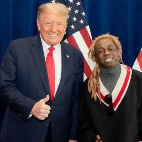 Wayne and Donald Trump