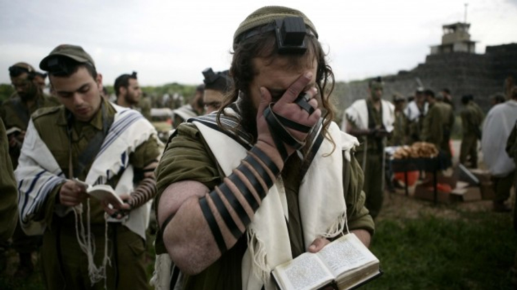 File photo: Ultra-Orthodox Israeli soldiers