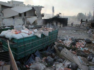 الامم المتحدة تعلن تعليق كل قوافل المساعدات الانسانية في سوريا