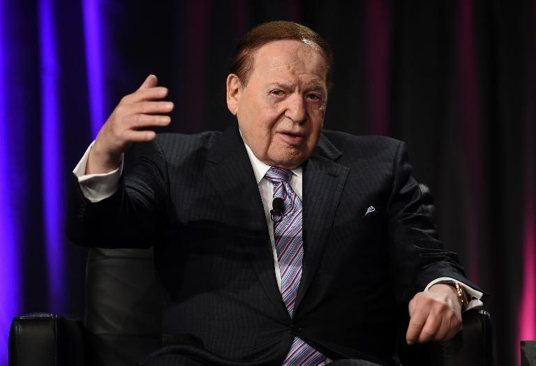 Le multimilliardaire Sheldon Adelson à Las Vegas, le 1er octobre 2014.