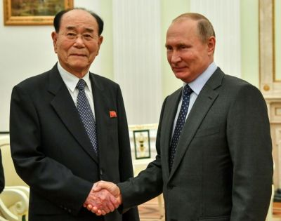 Image result for US North Korea Envoy In Moscow As Russia Plans For Kim-Putin Talks