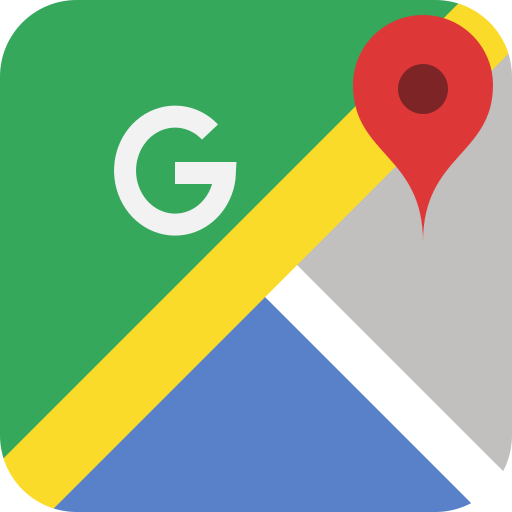 Google maps icon - app for Navigation using GPS, please don't be either skeptical or skep someone's  nav skills