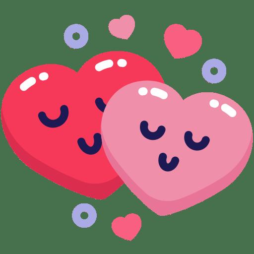 Download Love, heart, couple, emoji, emo Free Icon of Mr.Valentine
