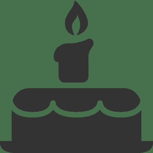 Icone Anniversaire Gateau Nourriture Gratuit De Windows 8 Icon